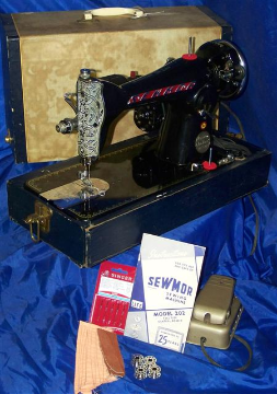 SEWMOR 202 SEWING MACHINE 15 CLASS