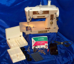 SINGER 401A SEWING MACHINE