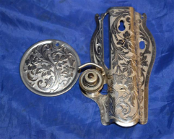 FACE PLATE ROUND PLATE SCROLL SET SINGER 115 SEWING MACHINE PARTS
