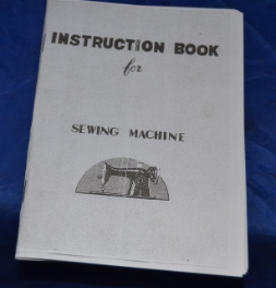 MANUAL COPY OF ORIGINAL FOR 15 CLASS JAPAN OTHER SEWING MACHINES