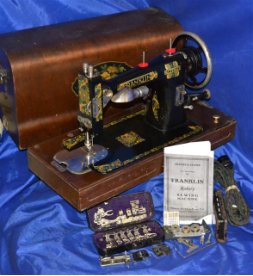 FRANKLIN ROTARY SEARS, ROEBUCK CO SEWING MACHINE