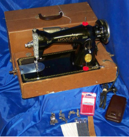 MODERN ELECTRIC DELUXE SEWING MACHINE