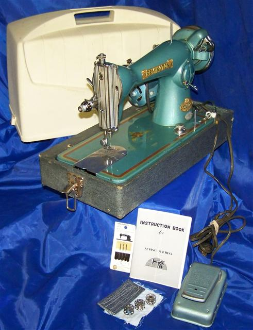 REMINGTON DELUXE 15 CLASS SEWING MACHINE