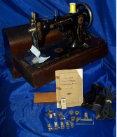 DAMASCUS ELECTRIC ROTARY SEWING MACHINE