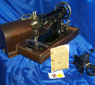 EMPRESS LONG SHUTTLE SEWING MACHINE