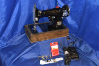 PRECISION DE LUXE SEWING MACHINE LONG SHUTTLE
