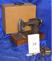 WRIGHT X LONG SHUTTLE SEWING MACHINE