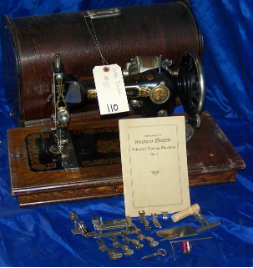 WESTERN ELECTRIC LONG SHUTTLE SEWING MACHINE