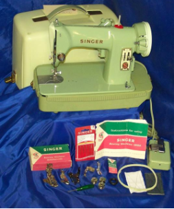 SINGER 185J SEWING MACHINE 1954