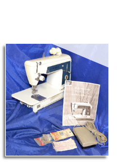 SINGER 629 TOUCH & SEW SLANT NEEDLE SEWING MACHINE