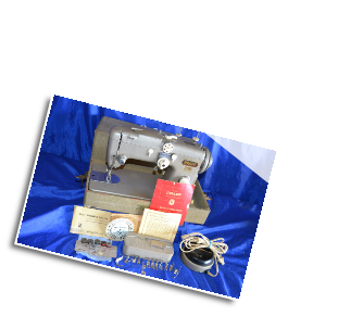 PFAFF 230 ZIGZAG SEWING MACHINE SERVICED FOR SALE