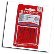 singer 2020-16c sewing machine needles CARD 0F 5