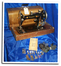 CUPPLES LONG SHUTTLE SEWING MACHINE