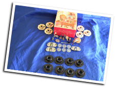 SINGER 758 SEWING MACHINE ATTACHMENTS & DISCS