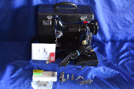 221 PFW QUILTERS PORTABLE REPLICA OF SINGER 221 FEATHERWEIGHT SEWING MACHINE