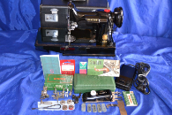 SINGER 221 FEATHERWEIGHT SEWING MACHINE APRIL 22,1954 SALE