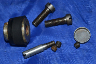 MOTOR WHEEL & HARDWARE SCREWS ORIGINAL VINTAGE INTERNATIONAL PARTS