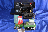 SINGER 221 FEATHERWEIGHT SEWING MACHINE 1957 SALE