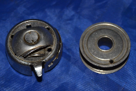 BOBBIN CASE WHITE ROTARY 43 ORIGINAL PART MAY FIT FEW SIMILAR MACHINES